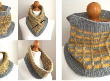 versatile fittleworth knitted cowl | the knitting space
