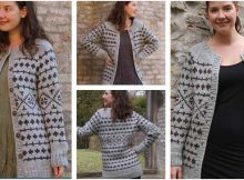 versatile vilde knitted cardigan | the knitting space