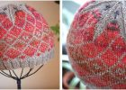 vibrant fair isle knitted hat | the knitting space
