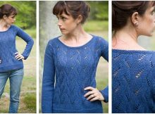 vibrant springtime knitted pullover | the knitting space