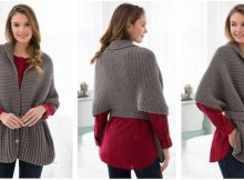 vintage style knitted sweater | the knitting space