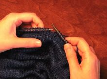 knitted welt stitch or tuck stitch | the knitting space