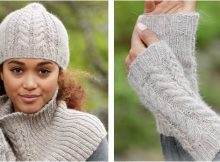 winter wired knitted warmers   the knitting space