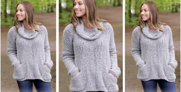 wondrous wellness knitted sweater | the knitting space