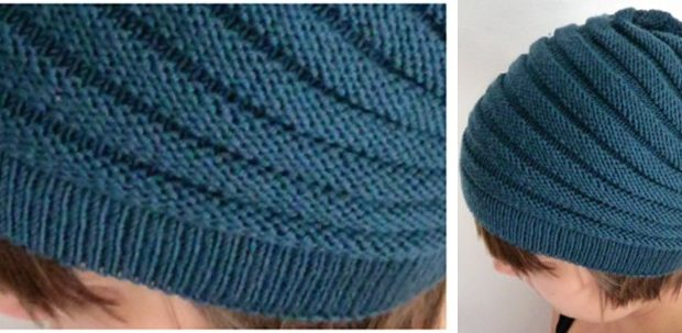 fun Wurm knitted unisex hat | the knitting space