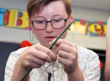 young knitter excels in class | the knitting space
