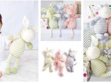 zestful zebra knitted stuffed toy | the knitting space